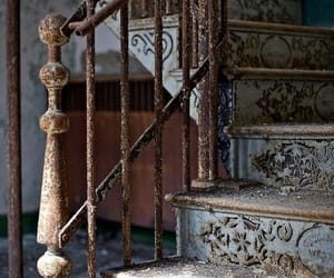 stairs, vintage, and old image