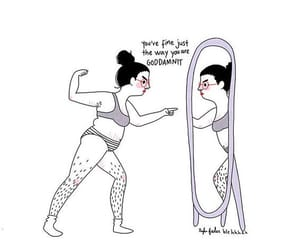 quotes, self love, and body image