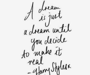 quotes, Dream, and Harry Styles image