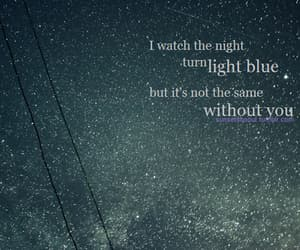 quotes, night, and blue image