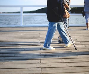 crutches, injury, and types of crutches image
