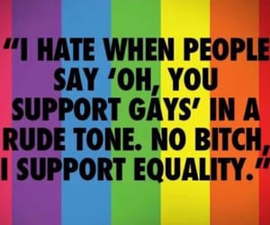 gay, supporter, and love is love image