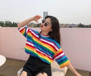 t-shirt, aesthetic, and korean image