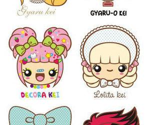 cartoon, gyaru, and japan image