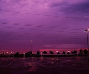 sky, purple, and pink image