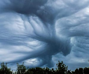 cloud, stormy, and clouds image