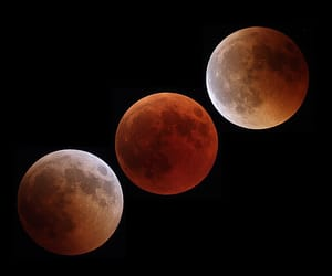 eclipse, moon, and moonlight image