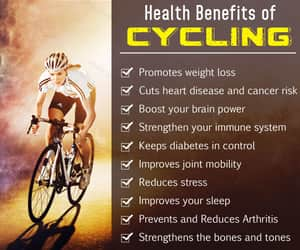 ARTHRITIS, diabetes, and cycling image