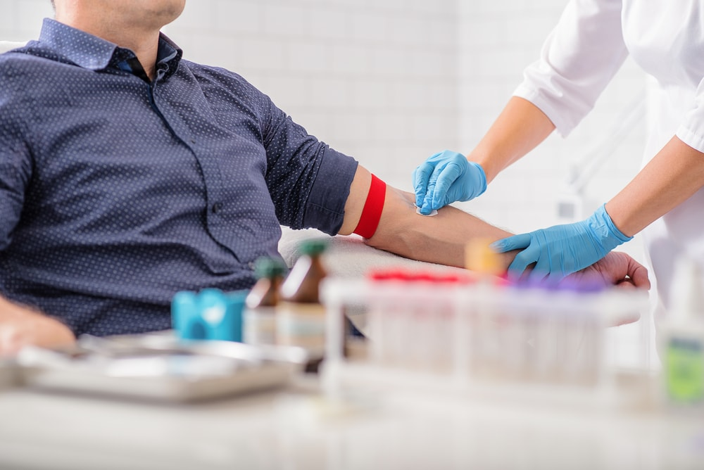 blood test at home image