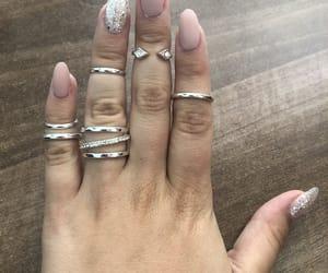 beauty, elegant, and nails image