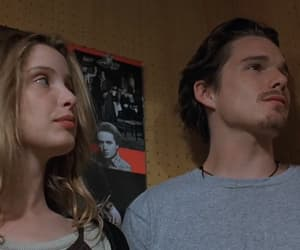 before sunrise, ethan hawke, and julie delpy image