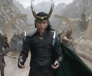 gif, tom hiddleston, and thor: the dark world image