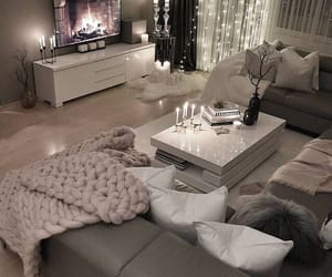cozy, decor, and lights image