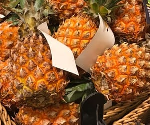 ananas, food, and healthy image