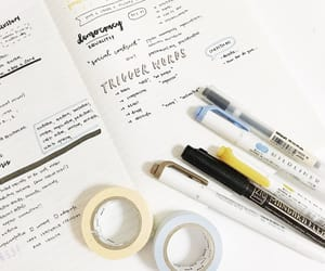 design, notes, and notebook image