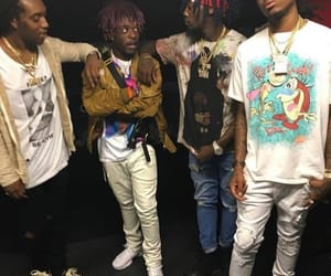 fashion, lil uzi vert, and rappers image