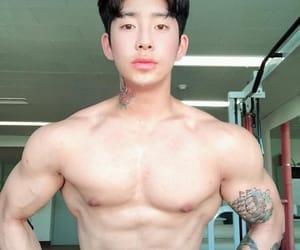 alternative, korean, and men image