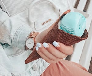 food, icecream, and yummy image