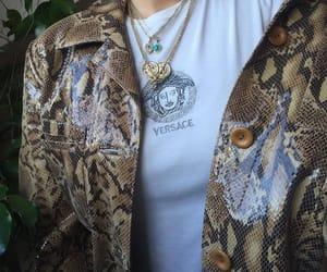 fashion, Versace, and girl image