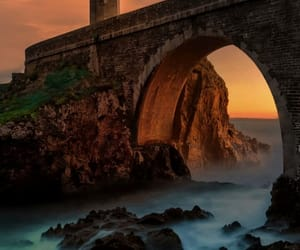bridges, lighthouse, and nature photography image