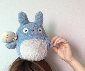 aesthetic, soft, and totoro image