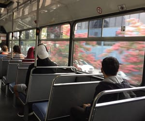 aesthetic, bus, and alternative image