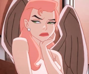 cartoon, angel, and mood image