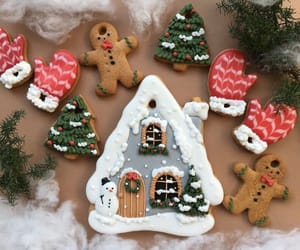 christmas, gingerbread, and Christmas party image