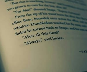 always, hp, and severussnape image