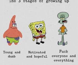 cartoon, spongebob, and life image