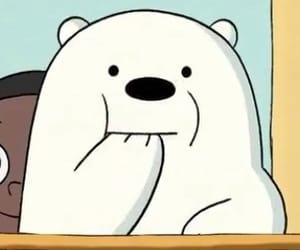 cartoon, ice bear, and we bare bears image
