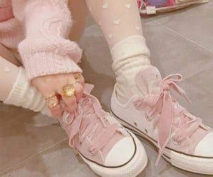 fashion, ribbon, and shoelace image