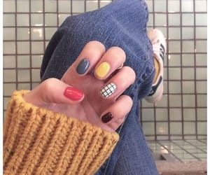 nails, fashion, and colors image