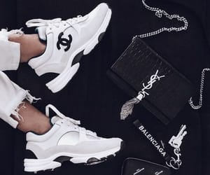 Balenciaga, chanel, and sneakers image