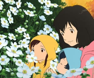anime, anime movie, and wolf children image