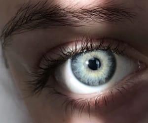 blue, eyes, and blueeyes image