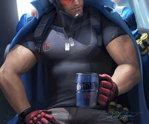 overwatch and soldier 76 image