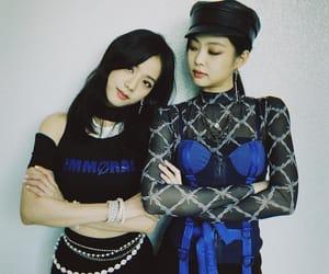 jennie, jisoo, and blackpink image