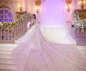 beauty, bridal, and gown image