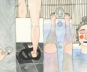 bath, care, and chill image