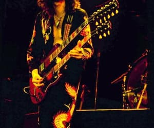 70's, guitar, and jimmy page image