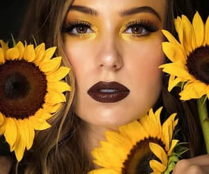 amarelo, colors, and make up image