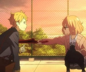 carmine, beyond the boundary, and mirai kuriyama image