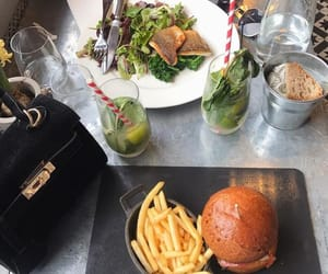 burger, diner, and love it image