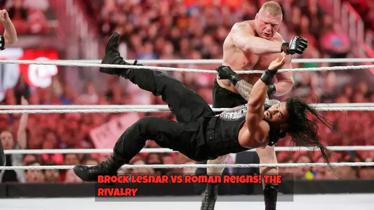 article, brock lesnar, and roman reigns image