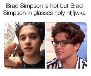 brad simpson, the vamps, and bradley simpson image