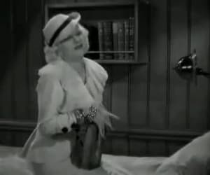 clark gable, gif, and jean harlow image