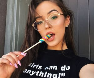 girl, beauty, and candy image