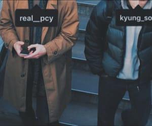 kyungsoo, chanyeol, and exo couples image