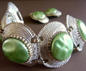 bracelet, green, and hollywood image